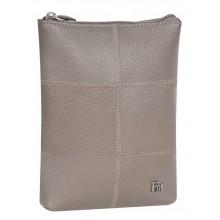Сумка женская планшет из кожи Franchesco Mariscotti 1-4109/1к-007 капучино
