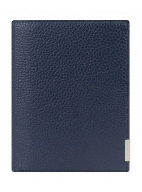 Портмоне вертикальное Baron 0-18В фр п синий
