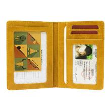 Бумажник водителя кожаный ОВ-А табачно-желтый Аpache