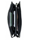 Портмоне мужское кожаное БМ-А дымчато-черное Apache