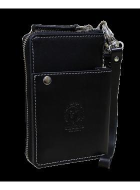 Портмоне мужское МК-S-9 черное Apache RFID