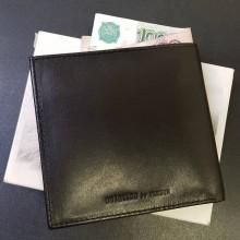 Футляр для карт мужской кожаный А-ФСК-8 черный Авиатика