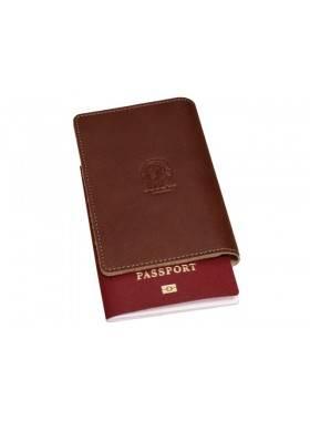 Обложка для паспорта ОП-S коричневая Apache RFID