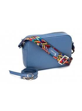 Женская сумка кросс боди натуральная кожа Libellula голобуй Person