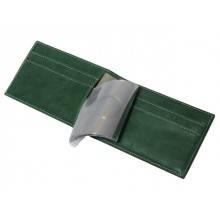 Футляр под карты пластиковые ВМ-9 Мэри зеленый Kniksen