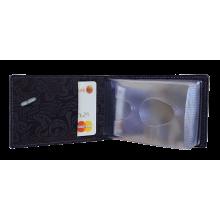 Футляр для визиток кожа ВМ-Ф аляска фиолетовая Person